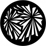 Standardstahlgobo Rosco Geometric Explosion 71028