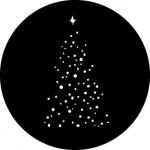 Standardstahlgobo GAM Design Christmas Tree B  538