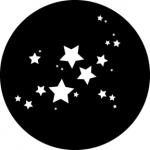 Standardstahlgobo GAM Design Star Cluster 555