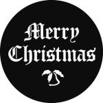 Standardstahlgobo GAM Design Merry Christmas 576