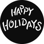 Standardstahlgobo GAM Design Happy Holidays 644
