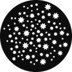 Standardstahlgobo GAM Design Stars on Stars 777