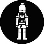 Standardstahlgobo GAM Design Wooden Soldier 826