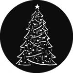 Standardstahlgobo GAM Design Christmas Tree Composite 824