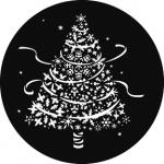 Standardstahlgobo GAM Design Snow Tree 912