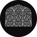 Standardstahlgobo GAM Design Persian Window 918