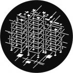Standardstahlgobo GAM Design Scaffolding Breakup 926