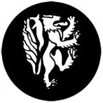Standardstahlgobo Rosco Heraldics 1 77162