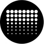 Standardstahlgobo Rosco Geometrics 7 77226