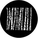 Standardstahlgobo Rosco Birches 77548