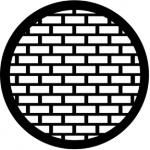 Standardstahlgobo Rosco Bricks 77527