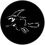 Standardstahlgobo Rosco Black Witch 77555