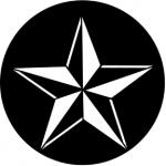 Standardstahlgobo Rosco 3D Star 77598