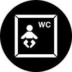 Standardstahlgobo Rosco Baby Changing 77672