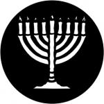 Standardstahlgobo Rosco Candles/Menorah 78007