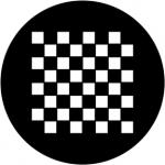 Standardstahlgobo Rosco Chessboard 78049