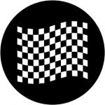Standardstahlgobo Rosco Chequered Flag 2 78051