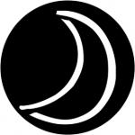 Standardstahlgobo Rosco Child's Moon 78168