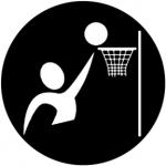 Standardstahlgobo Rosco Basketball 78502