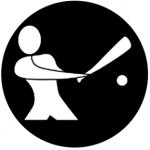 Standardstahlgobo Rosco Baseball 78503