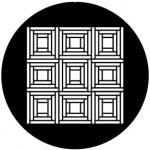 Standardstahlgobo Rosco Capstone Pattern 78581 (Design by Tom Seeldraeyers)