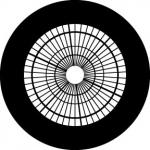 Standardstahlgobo Rosco Atrium Star 78728