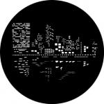 Standardstahlgobo Rosco City Lights 2 79023