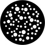 Standardstahlgobo Rosco Bubbles Medium 79653