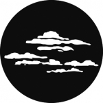 Standardstahlgobo GAM Design Cloud 1 224