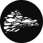 Standardstahlgobo GAM Design Cloud 3 226