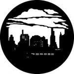 Standardstahlgobo GAM Design Skyline with Clouds 2 374