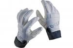 Handschuh Edelrid Sticky Glove  Kunstleder weiss