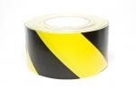 Tunnel-Tape Nr. 56  gelb/schwarz  75 mm x 36 m
