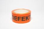 "Verpackungsband ""DEFEKT"" PVC  50 mm x 66 m"