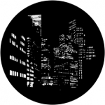 Standardstahlgobo Rosco City Nightscape  71012