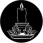 Standardstahlgobo Rosco Candles 78368