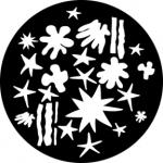 Standardstahlgobo Rosco Artists Breakup 76512