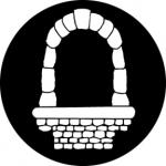 Standardstahlgobo Rosco Castle Window 76565