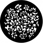 Standardstahlgobo Rosco Floral 7 77547