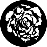 Standardstahlgobo Rosco Blooming Rose 78084