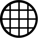 Standardstahlgobo Rosco Circular 77136